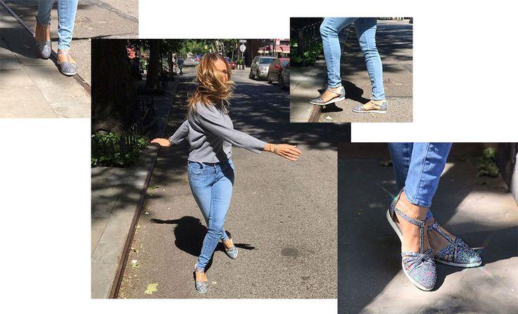 Сара Джессика Паркер выпустила «кроссовки»