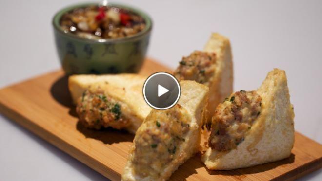 Gevulde tahoe (tahu isi) - recept | 24Kitchen