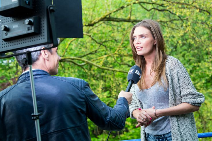 Dutch model Kim Feenstra on National tv about the Fashionchick collection for Sacha // copyright THE VIEWFINDER
