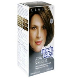 Clairol nice n easy gray solution permanent color light brown kit best hair care coloring - Easy hair care solutions ...