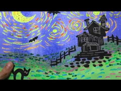 Spooky Starry Night - YouTube