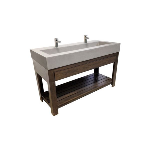 Concrete Trough Sink : Concrete Sink 48