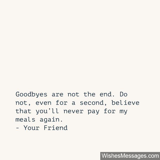 Quote For Best Friend Farewell