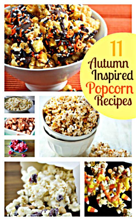 """11 Popcorn Recipes"" ~ includes ""bacon"", ""buffalo ranch"", ""jello"", ""white chocolate"", ect......"