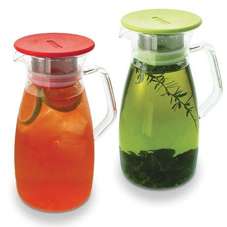 Cold-Brew Iced Tea JugIcetea, Teas Time, Teas Maker, Teas Jugs, Iced Tea, Coldbrew Ice, Cold Brew Ice, Poketo Coldbrew, Ice Teas