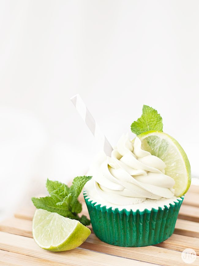 Mojito Cupcakes on Pinterest | Fruit cupcakes, Alcoholic cupcakes ...