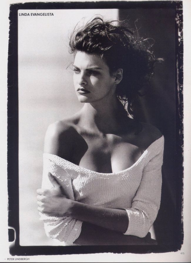Photos PETER LINDBERGH Vogue US - Linda Evangelista, Tatjana Patitz, Christy Turlington, Estelle Lefebure, Karen Alexander, Rachel Williams - Aug 1998