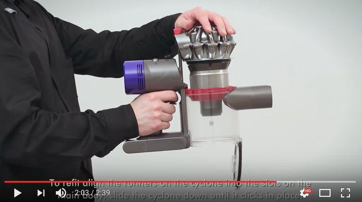 DYSON | V8 - Sostituzione Corpo Motore [video] - http://www.complementooggetto.eu/wordpress/dyson-v8-sostituzione-corpo-motore-video/