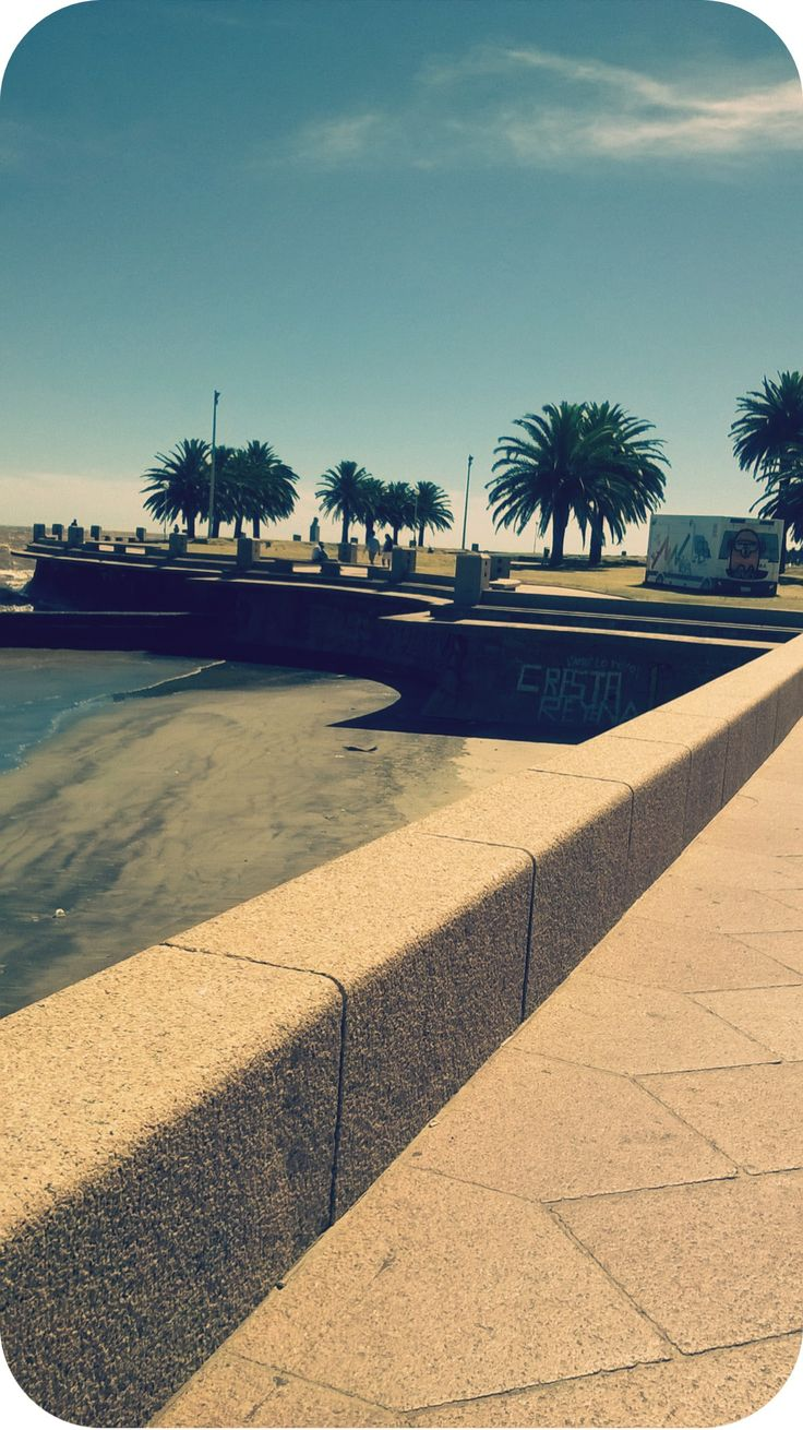 #Rambla #Montevideo ♡.