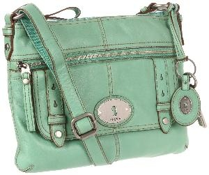 Fossil Bag. First one I REALLY like!: Mint Green, Design Shoes, Colors, Crosses Body Bags, Fashion Accessories, Fossils Maddox, Fossils Purses, Fossils Bags, Cross Body