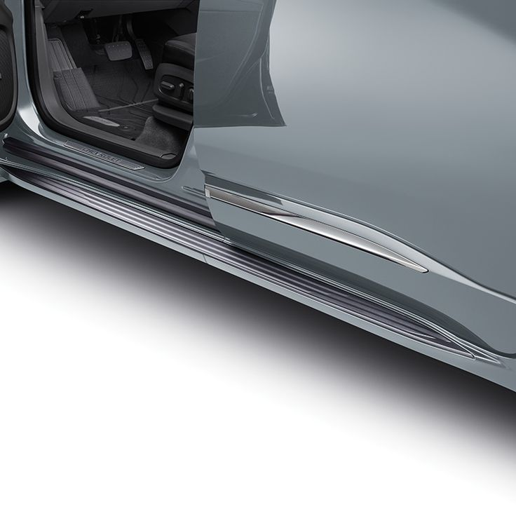 Get in and out of your Traverse with ease with these stylish Molded Assist Steps in Satin Steel Metallic These Chevrolet Accessories assist steps feature a textured step pad for improved footing and direct chassis mounting for maximum support Designed engineered and tested by Chevrolet exclusively for the All New Chevrolet Traverse Designed to Color Coordinate with the Bodycolor moldings provided on the Premier and High Country Models Use Black Molded Assists Part 84357961 with LS LT and RS…