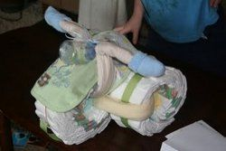 a diaper tricycle!