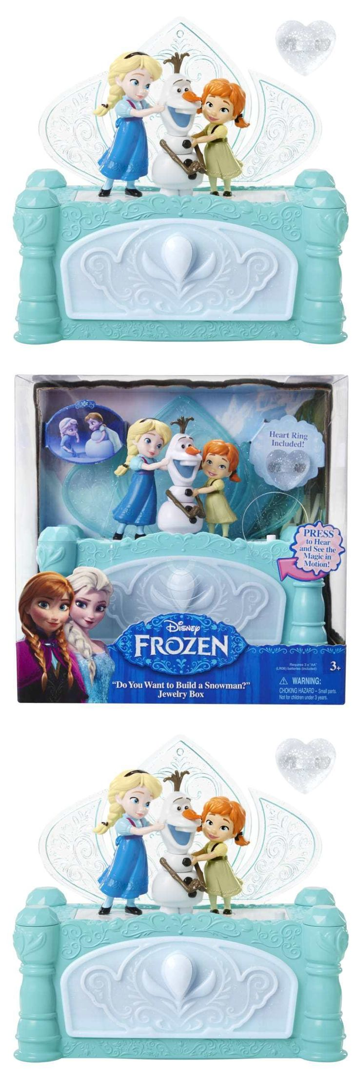 Other Childrens Jewelry 84608: Disney Frozen Do You Want To Build A Snowman Jewelry Box Store Jewelry Magic BUY IT NOW ONLY: $31.8