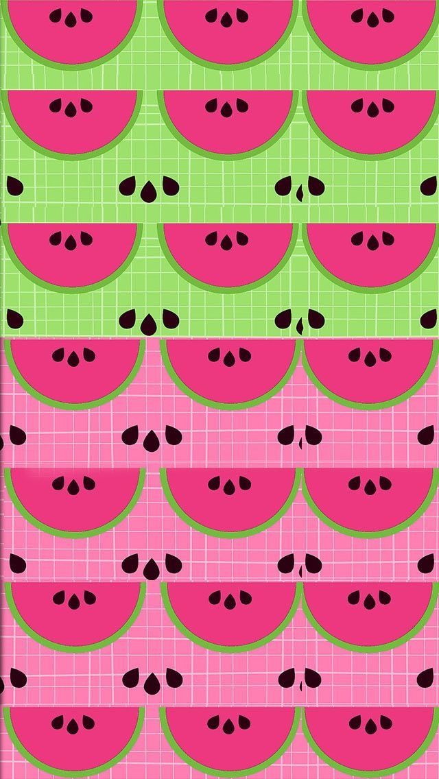 Pretty Phone Wallpaper Kawaii S Backgrounds Watermelon Funny Wallpapers Iphone