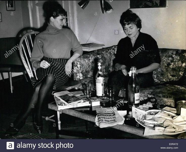 Nov. 11, 1958 - Angelica von Schirach, daughter of the former Reichsjugendfuhrer Baldur von Schirach, will go to Moskow.