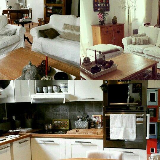 Maison cuisine salon  Marolles