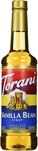 Torani Vanilla Bean Syrup, 25.4 Ounce >>> Special offer just for you. : baking desserts recipes