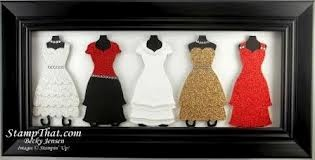 cards made with stampin up Dressed Up Framelits - Google Search