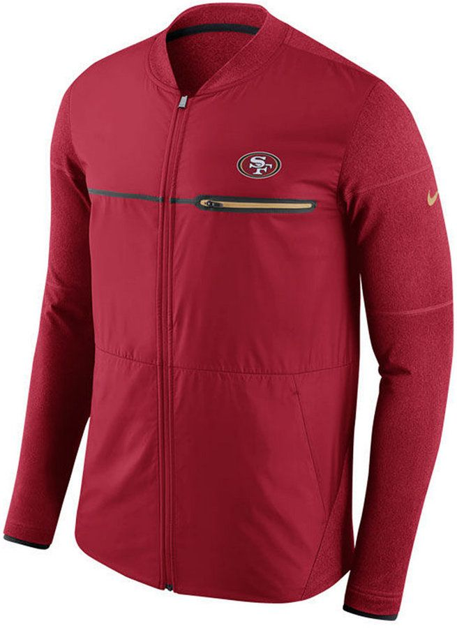 Nike Men's San Francisco 49ers Shield Hybrid Jacket