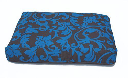 Aus der Kategorie Kissen & Decken  gibt es, zum Preis von EUR 95,00  BlossOm Hundekissen Größe M Passend für Hunde bis Rückenlänge ca. 50 cm Rassen:Cairn Terrier, kleiner Schnauzer, Beagle, Jack Russel, kleine-bis mittlerer Cocker-Spaniel , klein-und Mittelpudel, Mops, Tibet Terrier Mit BlossOm Hundekissen bieten sie ihrem Hund einen optimalen Schlaf und Ruheplatz,in einzigartigen Dessin und dekorativen Farben. Das 3 Kammersystem verhindert das Verklumpen und das Abwandern der…
