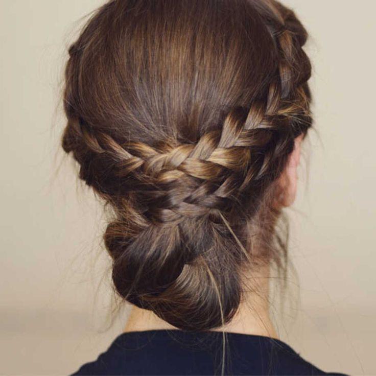 Enkel frisyre