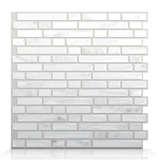 Shop Smart Tiles  SM1044 Bellagio Marmo Self Adhesive Wall Tile at Lowe's Canada. Find our selection of backsplashes & wall tile at the lowest price guaranteed with price match + 10% off.
