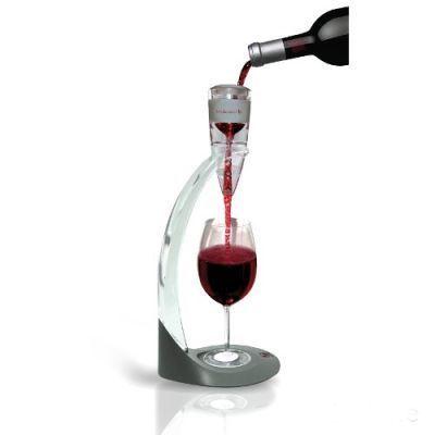 Aerator do Wina Deluxe wraz ze stojakiem sprawi, że podawanie wina nigdy nie było równie przyjemne i wygodne. Już nie ma potrzeby otwierania wina długo przed czasem. Aerator napowietrzy trunek od razu w trakcie przelewania. Świetny praktyczny prezent dla niego  http://www.godstoys.pl/prezenty-dla-mezczyzn