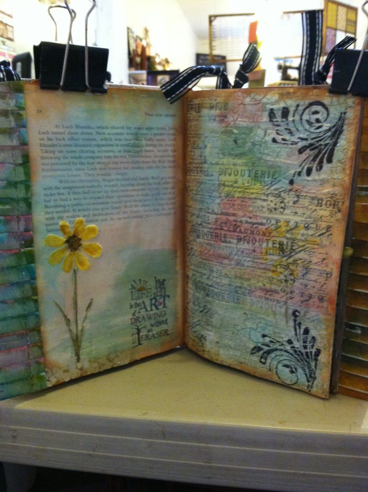 1000+ images about Altered Art on Pinterest | Tim holtz, Briefs and ...