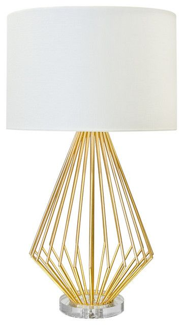 Empire Cage Table Lamp - Fold Living / Lighting