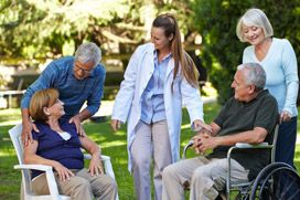Find information about choosing in home care services and how to determine the senior care solutions available.