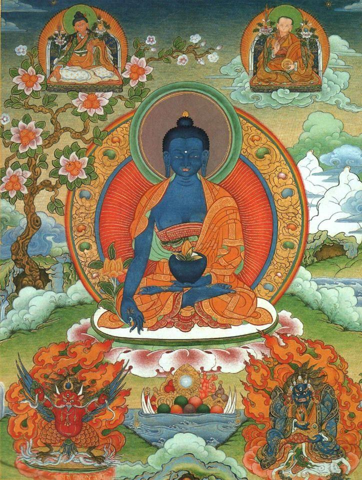 Днем, открытка буддисту