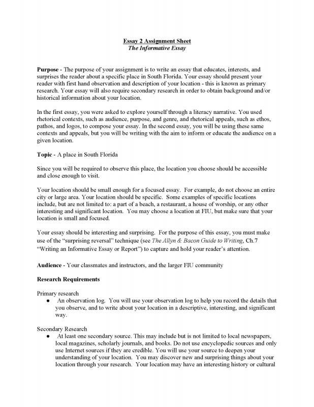 How To Write An Informative Essay Informative Essay Informational Writing Narrative Writing