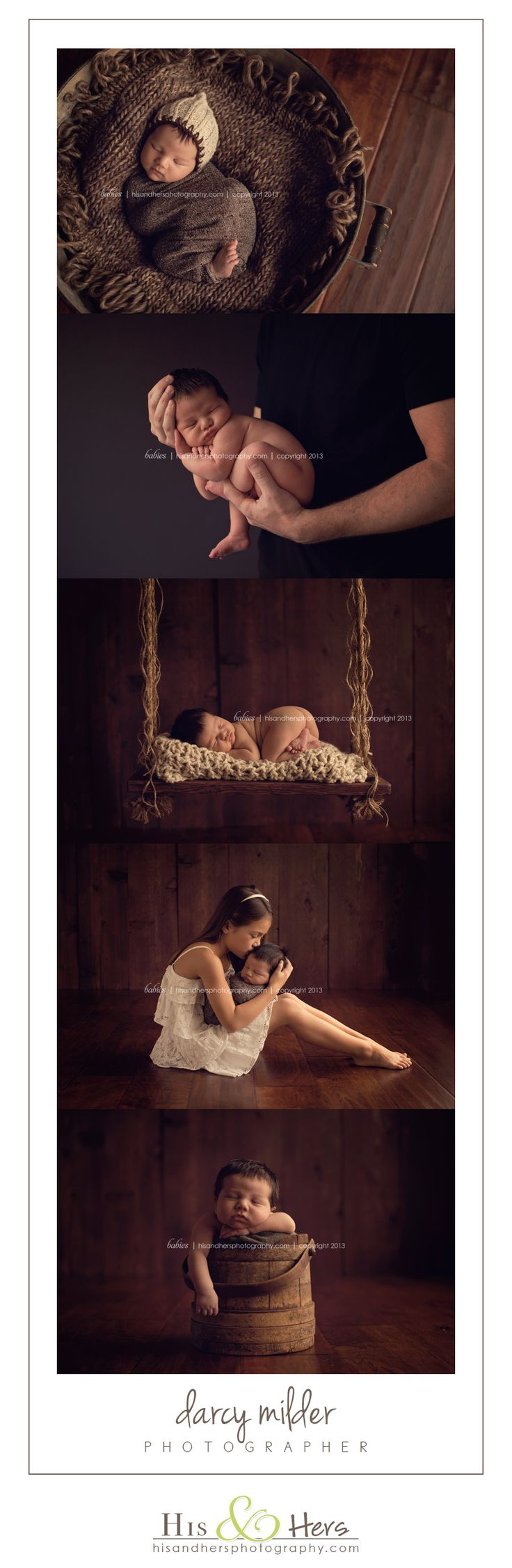 newborn #newborn | Iowa photographer, Darcy Milder | His & Hers