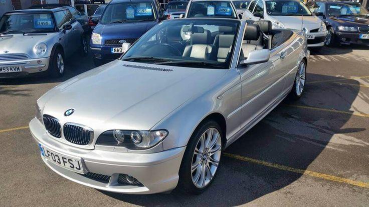 BMW 320CI - Automatic - Convertible  Price - £4995 - contact us on 01264 345600 / littlegemscars@aol.com