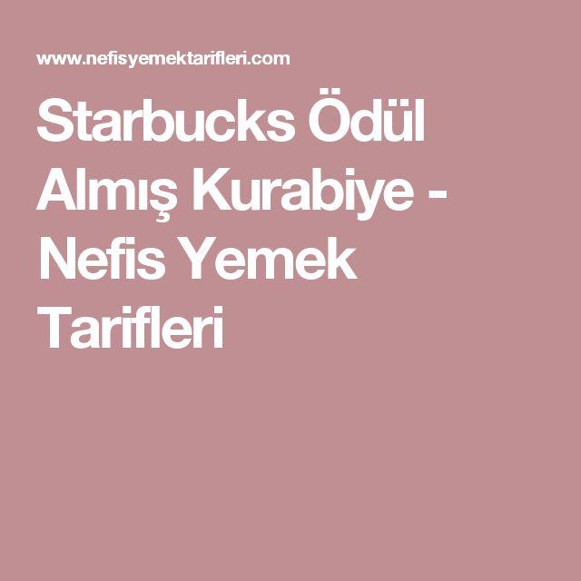 Starbucks Ödül Almış Kurabiye - Nefis Yemek Tarifleri