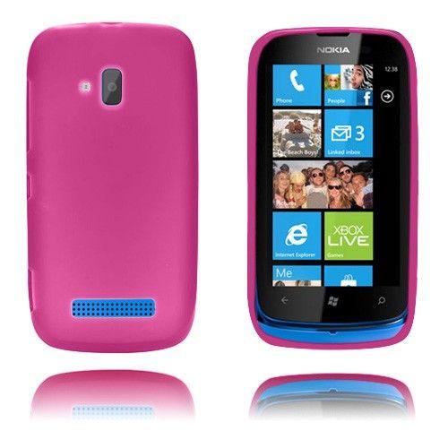GelCase (Varm Rosa) Nokia Lumia 610 Deksel