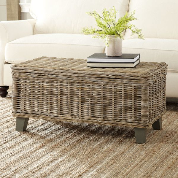 1000+ Ideas About Rattan Coffee Table On Pinterest