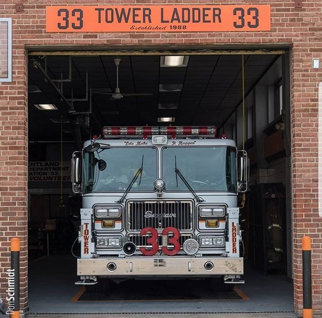 Seagrave Marauder Tower Ladder 33