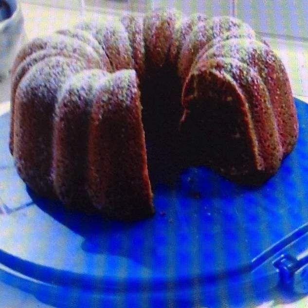 Rezept Spekulatius-Marzipan-Nougat-Kuchen von Thermihexe31 - Rezept der Kategorie Backen süß
