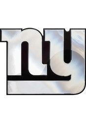 New York Giants Chrome Car Accessory Car Emblem