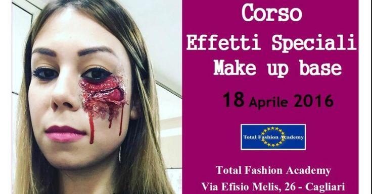 Sono aperte le iscrizioni al corso di Trucco Effetti speciali – make up base che si terrà il 18 Aprile 2016 presso la Total Fashion Academy.  Per maggiori informazioni: Total Fashion Academy Via Efisio Melis, 26 – Cagliari Tel. 070504910 – 3929439771
