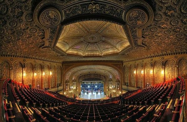 """The last of New York City's five """"Wonder Theaters,"""" this Jazz Age movie palace still hosts performances."""
