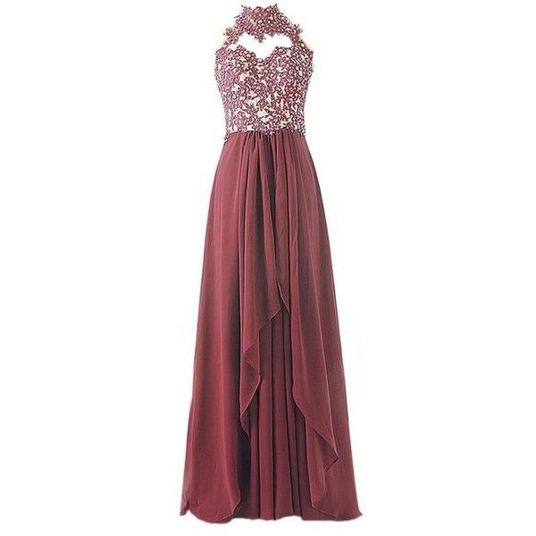 Simple Dress UK Lace Off Shoulder Cheap Bridesmaid Gowns Prom Dresses ($15) ❤ liked on Polyvore featuring dresses, gowns, bridesmaid dresses, red evening gowns, prom ball gowns, lace gown and prom gowns
