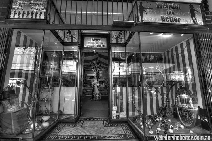 Street view of the shop. #weirderthebetter