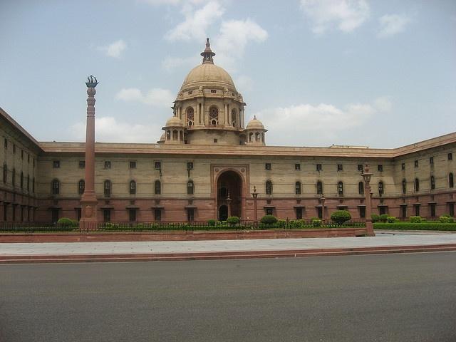Secretariat Buildings, Rashtrapati Bhavan    Secretariat Buildings are just government building I think and Rashtrapati Bhavan is the White house of India