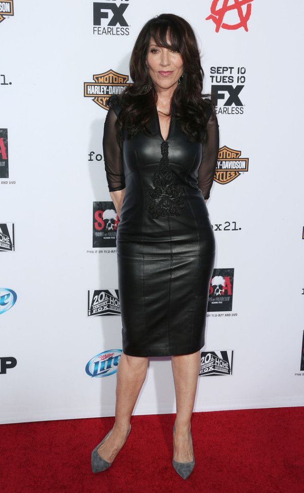 Fabulously Spotted: Katey Sagal Wearing Basler - 'Sons Of Anarchy'  Season 6 Premiere - http://www.becauseiamfabulous.com/2013/09/katey-sagal-wearing-basler-sons-of-anarchy-season-6-premiere/