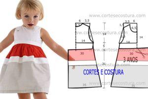 Cast-de-jurk en kind