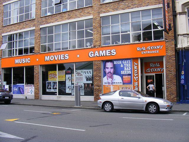 Real Groovy, 179 Tuam Street, Christchurch, New Zealand