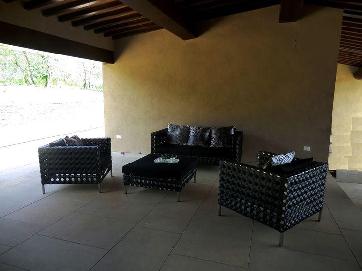 31 migliori immagini arredo giardino poltrone e divani per esterno su pinterest malacca - Divani in rattan per interno ...