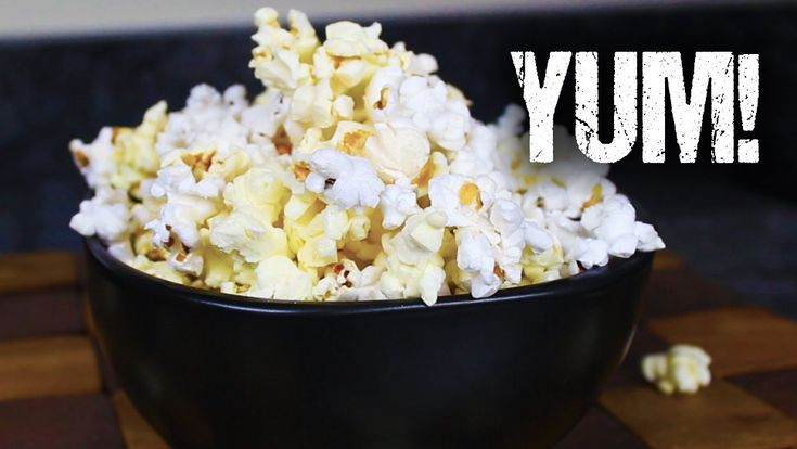 As far as easy-to-make snacks go, it doesn't get much more delicious than fresh popcorn. But maybe you don't want to buy those microwave bags with the orange goo inside. Watch this video to make homemade microwave popcorn the easy, healthy way in just a few minutes.